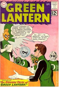 Green Lantern 11 - for sale - mycomicshop