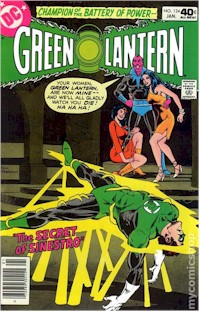 Green Lantern 124 - for sale - mycomicshop
