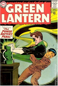 Green Lantern 32 - for sale - mycomicshop