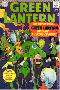 Green Lantern 46 - for sale - mycomicshop