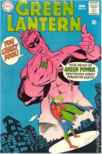 Green Lantern 61 - for sale - mycomicshop