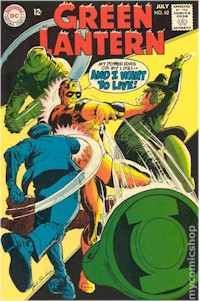 Green Lantern 62 - for sale - mycomicshop