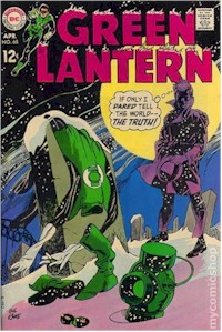 Green Lantern 68 - for sale - mycomicshop