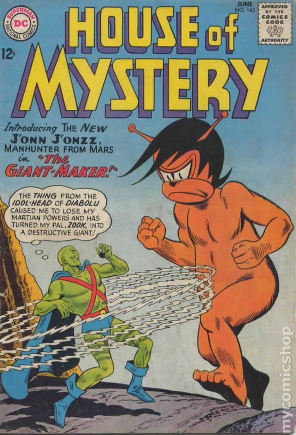 House of Mystery 143 - for sale - mycomicshop