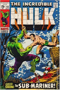 Hulk 118 - for sale - mycomicshop