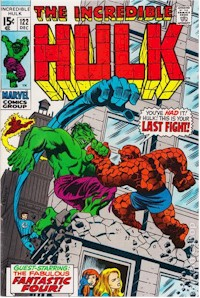 Hulk 122 - for sale - mycomicshop