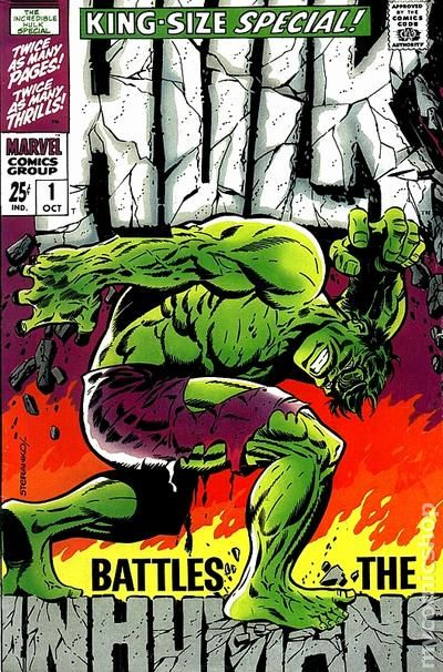 Hulk Annual 1 - for sale - mycomicshop