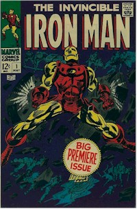 Iron Man 1 - for sale - mycomicshop
