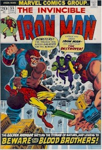 Iron Man 55 - for sale - mycomicshop