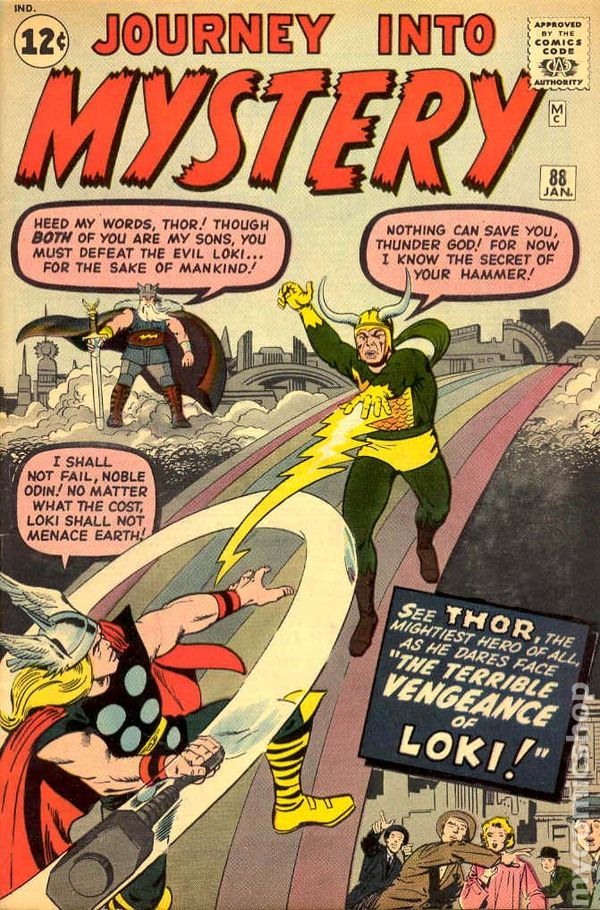 Journey into Mystery 88 - for sale - mycomicshop