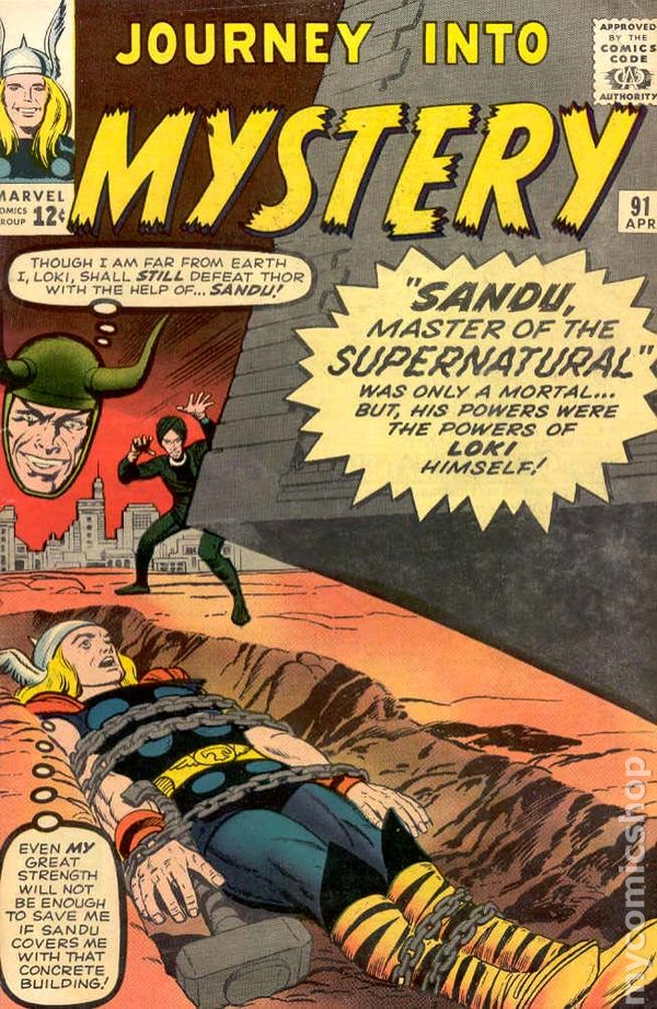 Journey into Mystery 91 - for sale - mycomicshop