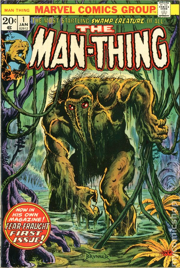 Man-Thing 1 - for sale - mycomicshop