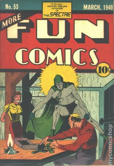 More Fun Comics 53- for sale - mycomicshop