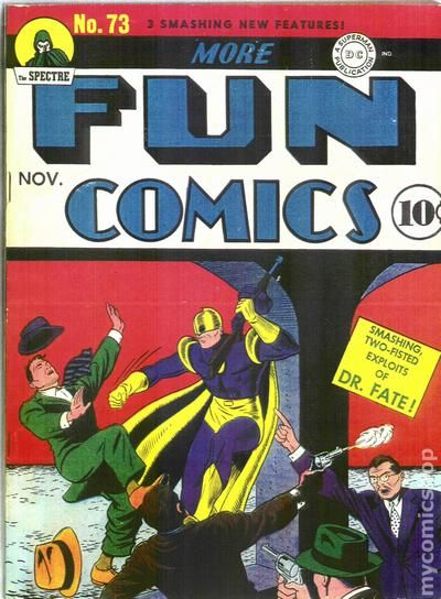 More Fun Comics 73- for sale - mycomicshop