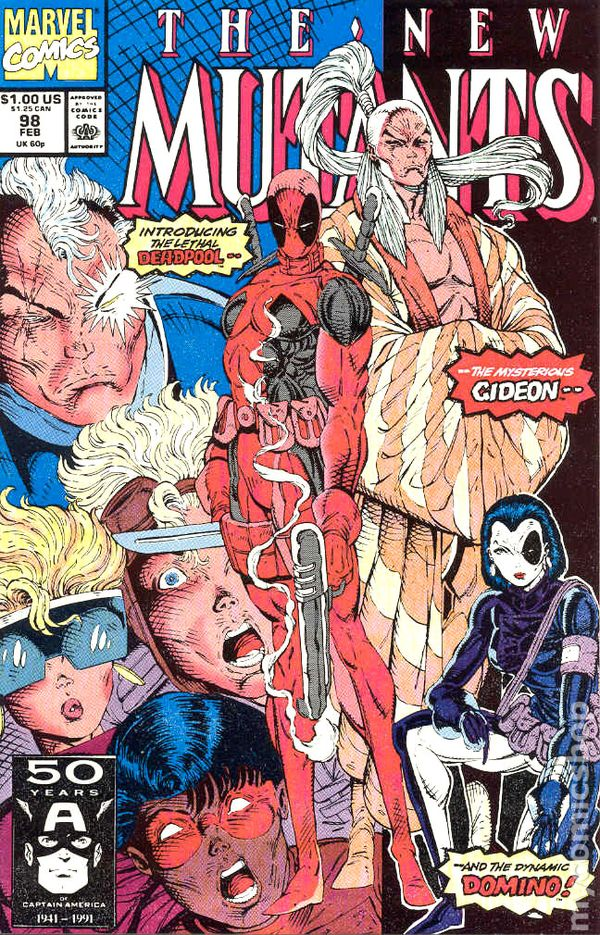 New Mutants 98 - for sale - mycomicshop
