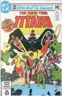 New Teen Titans 1 - for sale - mycomicshop