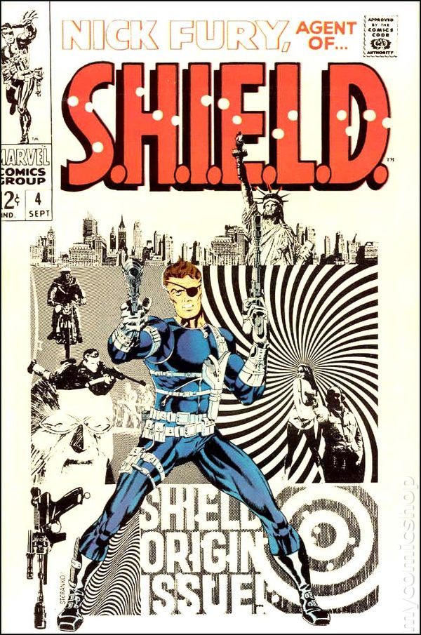Nick Fury 4 - for sale - mycomicshop
