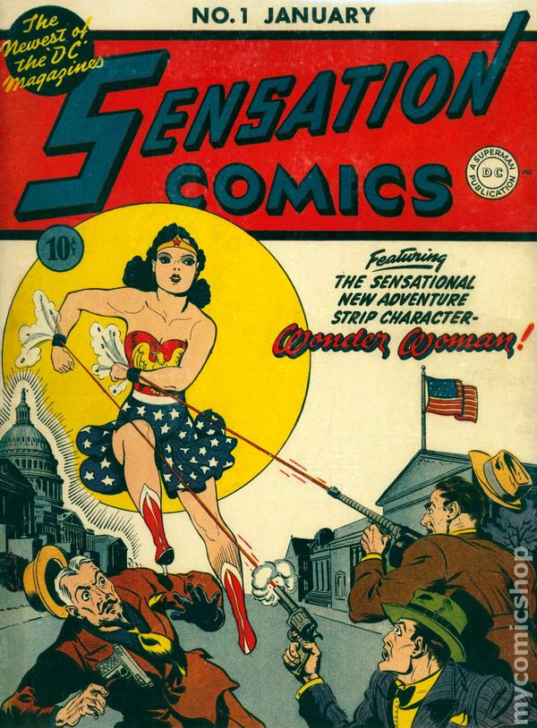 Sensation Comics 1 - for sale - mycomicshop