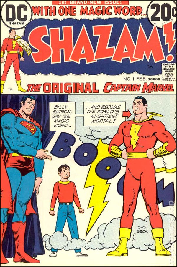 Shazam 1 - for sale - mycomicshop
