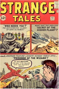 Strange Tales 102 - for sale - mycomicshop