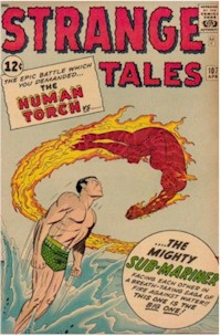 Strange Tales 107 - for sale - mycomicshop