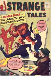 Strange Tales 108 - for sale - mycomicshop