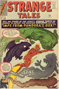 Strange Tales 109 - for sale - mycomicshop