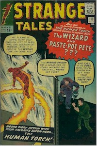 Strange Tales 110 - for sale - mycomicshop