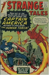 Strange Tales 114 - for sale - mycomicshop