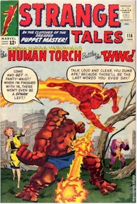 Strange Tales 116 - for sale - mycomicshop