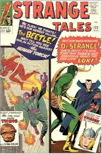 Strange Tales 123 - for sale - mycomicshop