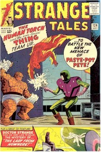 Strange Tales 124 - for sale - mycomicshop