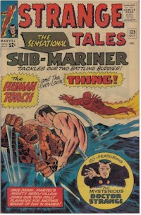 Strange Tales 125 - for sale - mycomicshop