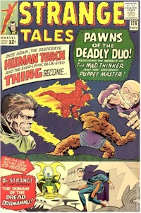Strange Tales 126 - for sale - mycomicshop