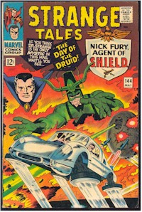 Strange Tales 144 - for sale - mycomicshop