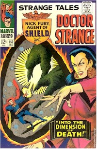 Strange Tales 152 - for sale - mycomicshop