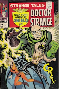 Strange Tales 157 - for sale - mycomicshop