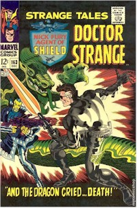 Strange Tales 163 - for sale - mycomicshop