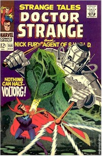 Strange Tales 166 - for sale - mycomicshop