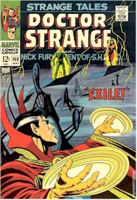 Strange Tales 168 - for sale - mycomicshop