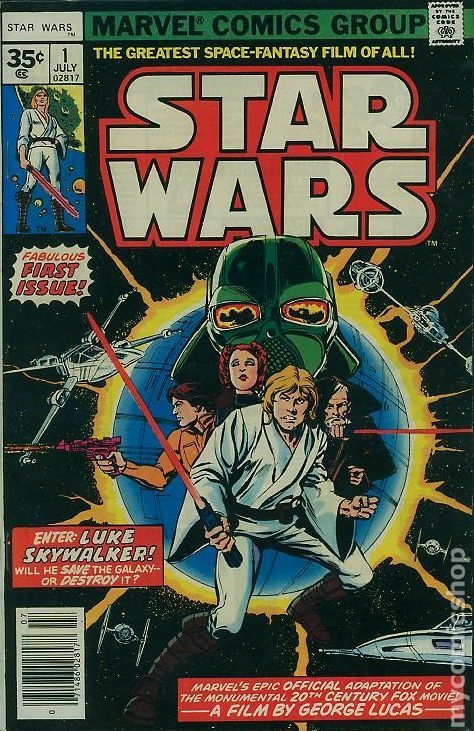 Star Wars 1 - 35 cent variant - for sale - mycomicshop