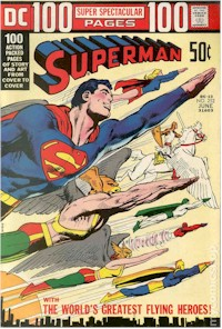 Superman 252 - for sale - mycomicshop