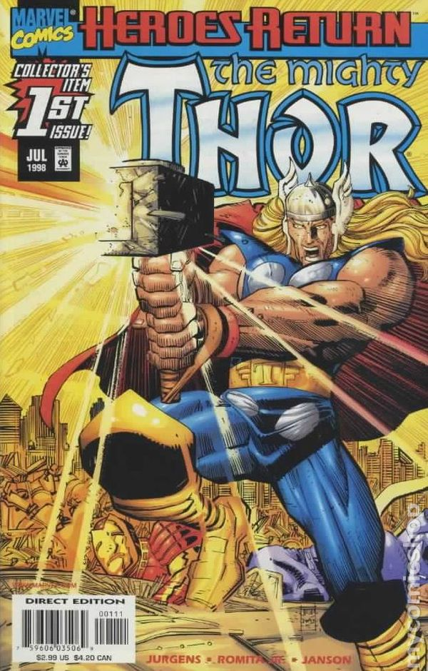 Thor 1 - 1998 - for sale - mycomicshop