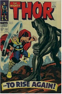 Thor 151 - for sale - mycomicshop