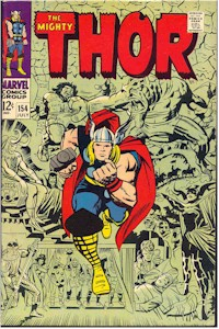 Thor 154 - for sale - mycomicshop