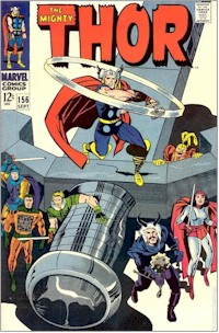 Thor 156 - for sale - mycomicshop