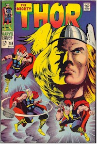 Thor 158 - for sale - mycomicshop