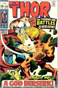 Thor 166 - for sale - mycomicshop