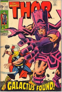Thor 168 - for sale - mycomicshop