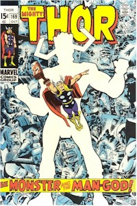 Thor 169 - for sale - mycomicshop